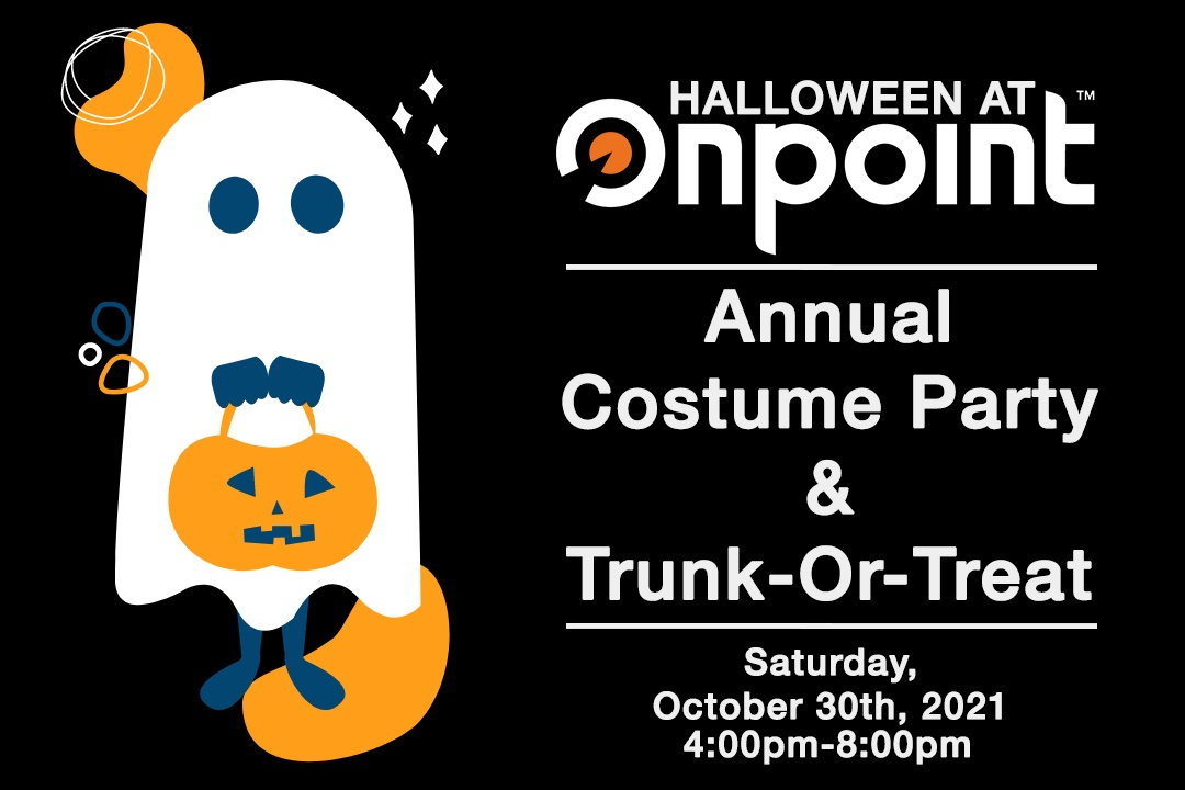 Halloween Costume Party and Trunk-or-Treat!, 10/30/2021 4:00 pm-8:00 pm registration